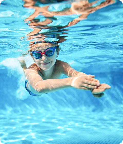 Обучение плаванию детей от 6-8 лет